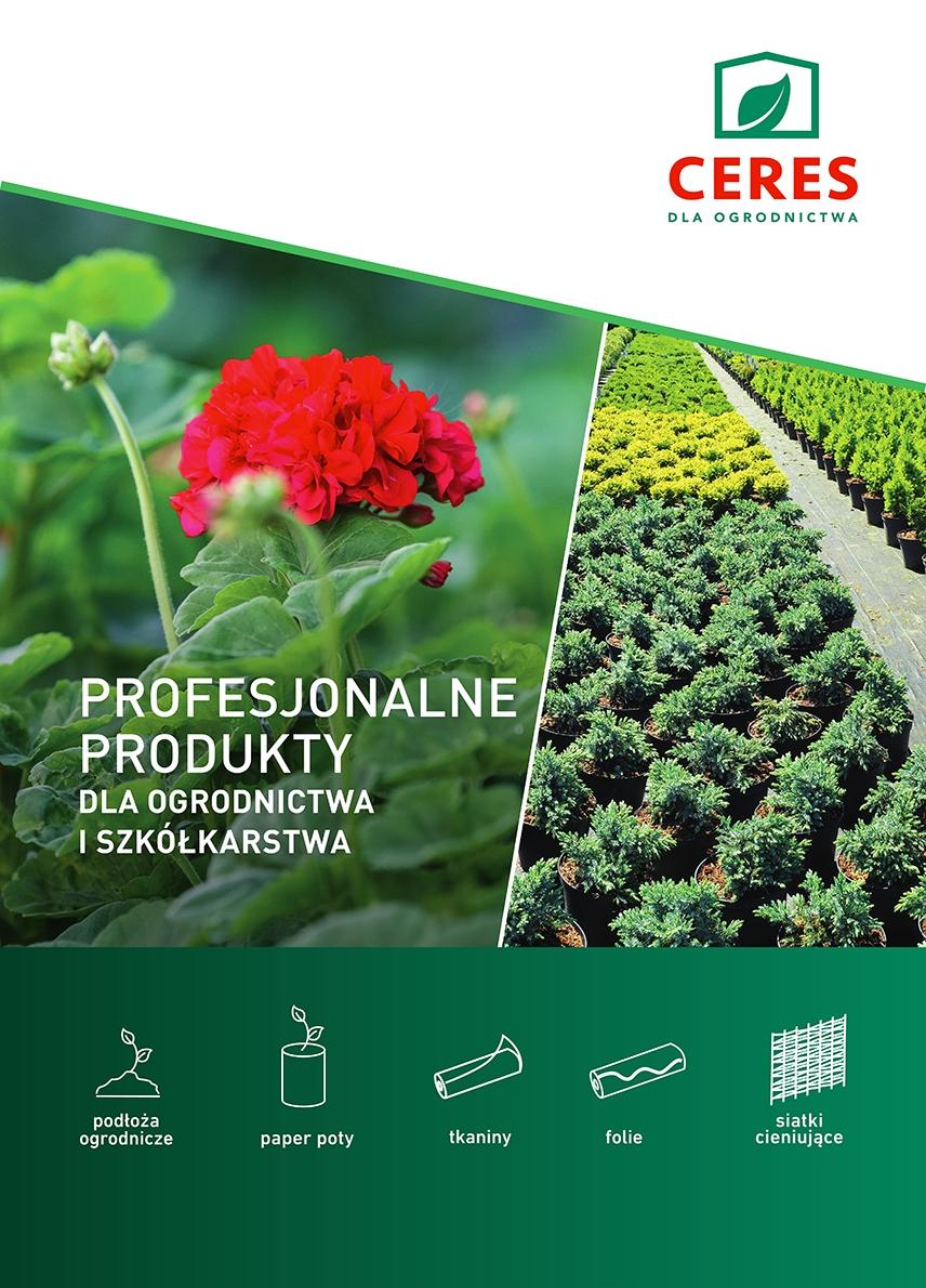 Katalog produktów dla ogrodnictwa i szkółkarstwa