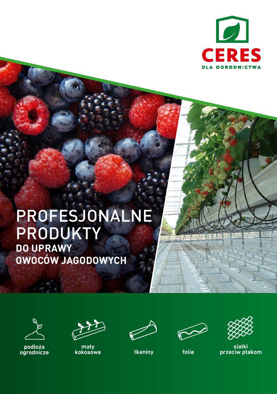 Katalog produktów do uprawy owoców miękkich